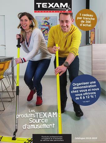 Texam catalogue publicitaire (valable jusqu'au 31-12)