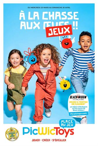 Toys R Us catalogue publicitaire (valable jusqu'au 26-04)