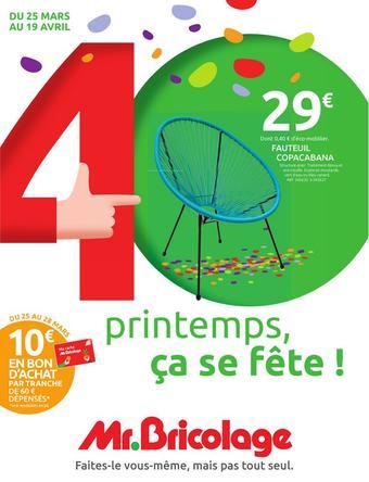 Mr Bricolage catalogue publicitaire (valable jusqu'au 19-04)