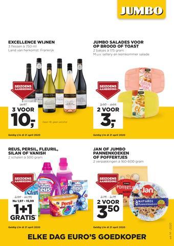 Jumbo Foodmarkt reclame folder (geldig t/m 07-04)