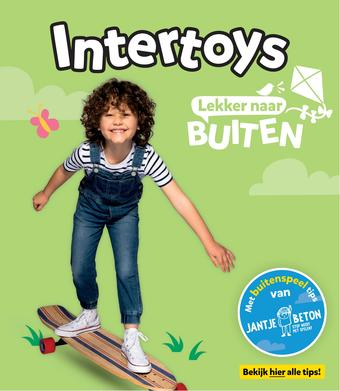 Intertoys reclame folder (geldig t/m 31-08)