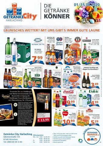 Getränke City Prospekt (bis einschl. 15-04)