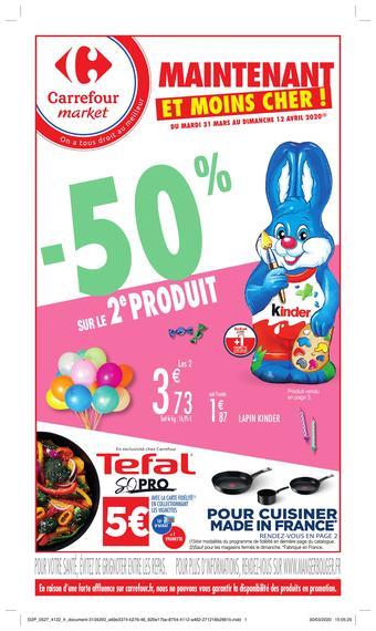 Carrefour Market catalogue publicitaire (valable jusqu'au 12-04)