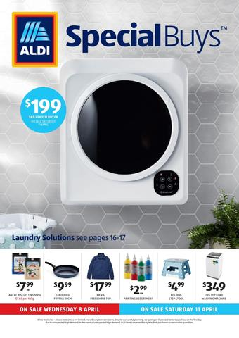ALDI catalogue (valid until 14-04)