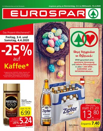 Eurospar Werbeflugblatt (bis einschl. 15-04)