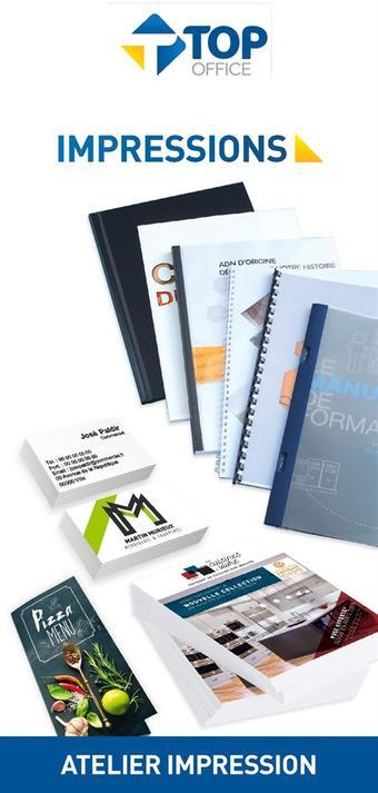 Top Office catalogue publicitaire (valable jusqu'au 30-04)