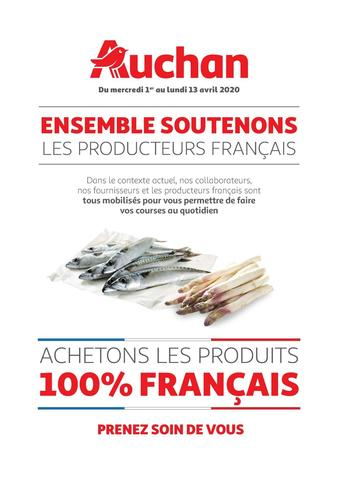 Auchan reclame folder (geldig t/m 13-04)