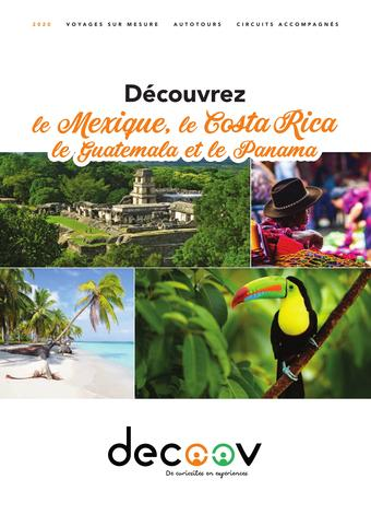 Voyages Internationaux catalogue publicitaire (valable jusqu'au 30-09)
