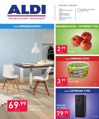 ALDI reclame folder (geldig t/m 11-04)