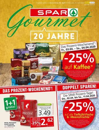 SPAR-Gourmet Werbeflugblatt (bis einschl. 15-04)