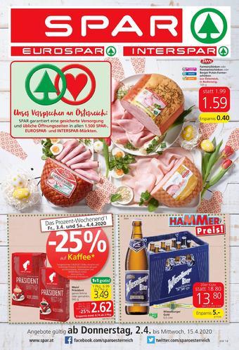 Spar Werbeflugblatt (bis einschl. 15-04)