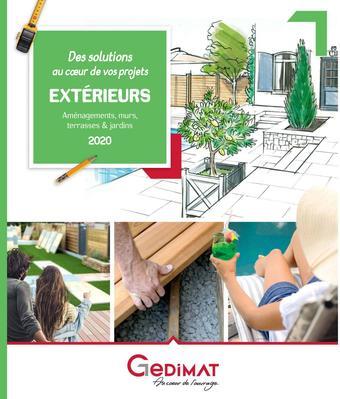 Gedimat catalogue publicitaire (valable jusqu'au 31-12)