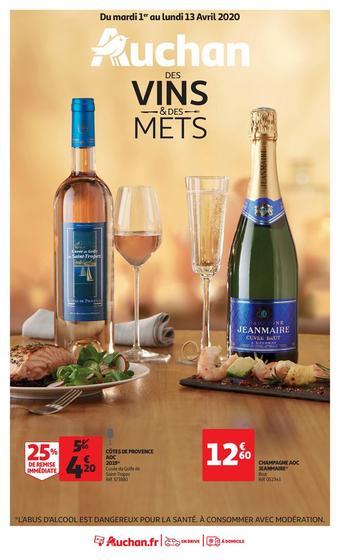 Auchan Drive catalogue publicitaire (valable jusqu'au 13-04)