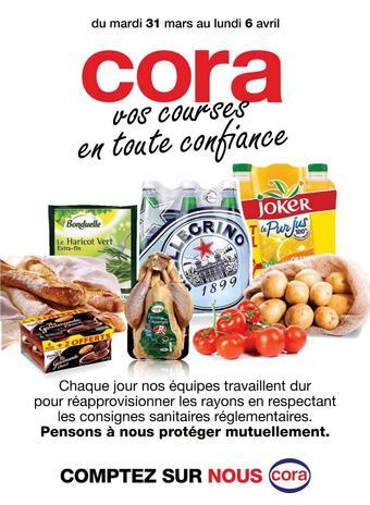 Cora catalogue publicitaire (valable jusqu'au 06-04)