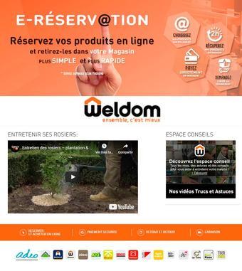 Weldom catalogue publicitaire (valable jusqu'au 27-04)