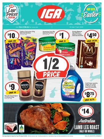 IGA catalogue (valid until 07-04)