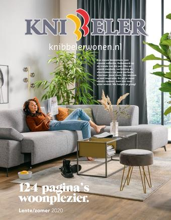 Knibbeler Meubelen reclame folder (geldig t/m 31-05)