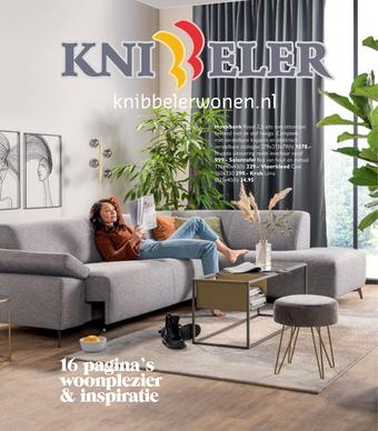 Knibbeler Meubelen reclame folder (geldig t/m 12-04)