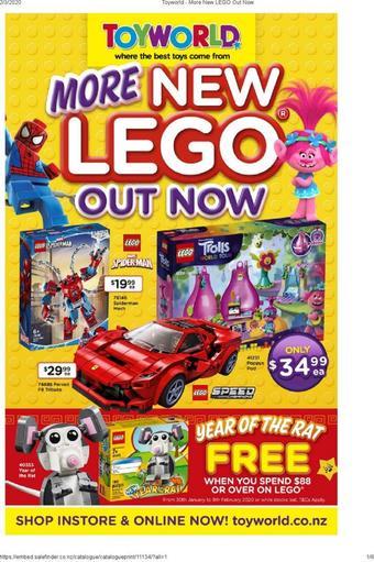 Toyworld catalogue (valid until 05-04)