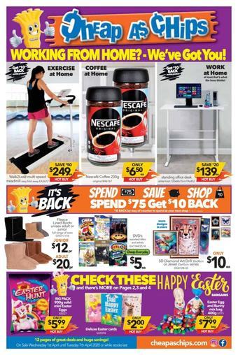 Cheap as Chips catalogue (valid until 07-04)