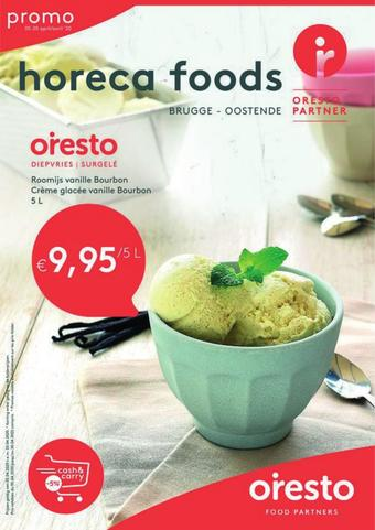 Horeca Foods reclame folder (geldig t/m 20-04)