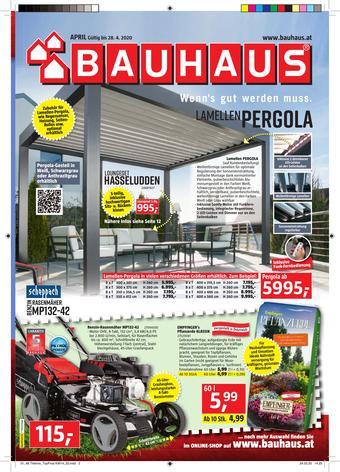 Bauhaus Werbeflugblatt (bis einschl. 28-04)