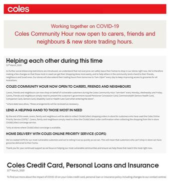 Coles catalogue (valid until 15-04)