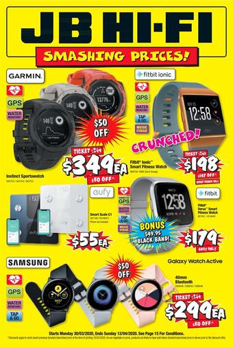 JB Hi-Fi catalogue (valid until 12-04)