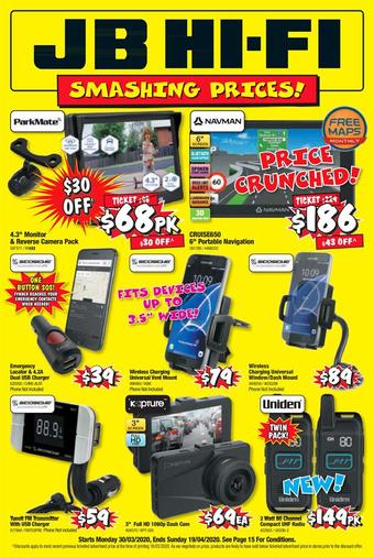 JB Hi-Fi catalogue (valid until 19-04)