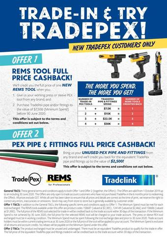 Tradelink catalogue (valid until 30-06)