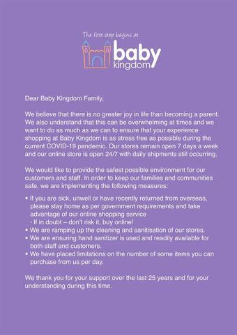 Baby Kingdom catalogue (valid until 15-04)