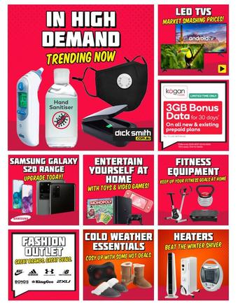 Dick Smith catalogue (valid until 15-04)