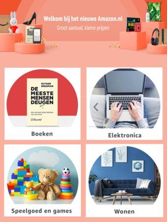 Amazon reclame folder (geldig t/m 31-07)