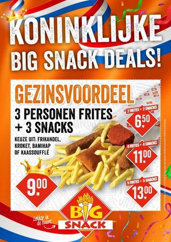 Big Snack reclame folder (geldig t/m 30-04)