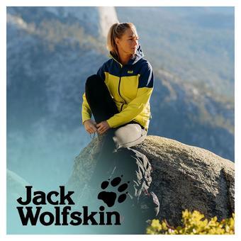 Jack Wolfskin reclame folder (geldig t/m 29-06)