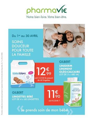 PharmaVie catalogue publicitaire (valable jusqu'au 30-04)