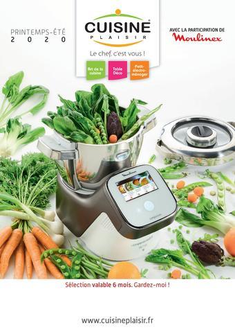 Cuisine Plaisir catalogue publicitaire (valable jusqu'au 31-08)