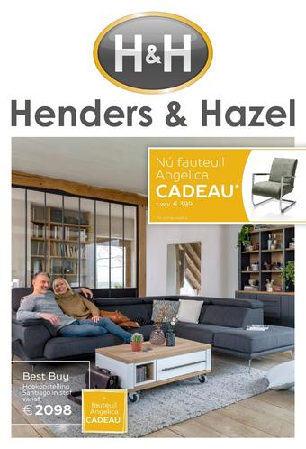 Henders & Hazel reclame folder (geldig t/m 13-05)