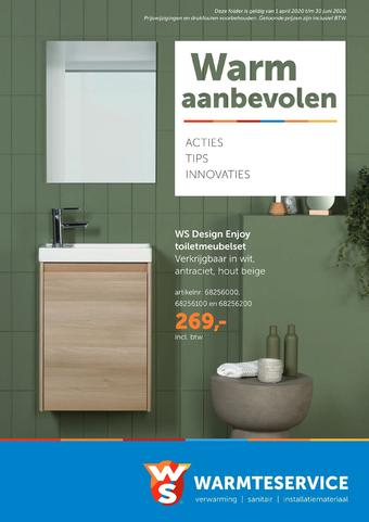 Warmteservice reclame folder (geldig t/m 30-06)
