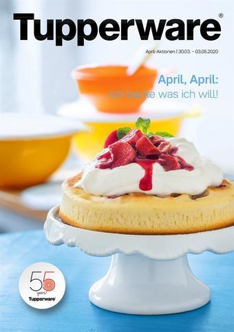 Tupperware Werbeflugblatt (bis einschl. 03-05)