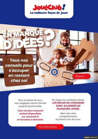 JouéClub catalogue publicitaire (valable jusqu'au 30-04)