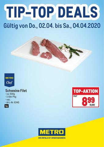 Metro Werbeflugblatt (bis einschl. 04-04)