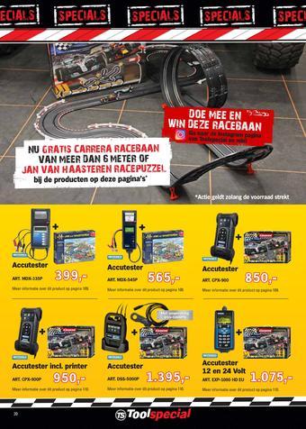 Toolspecial reclame folder (geldig t/m 30-04)