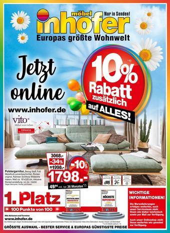Möbel Inhofer Prospekt (bis einschl. 14-04)
