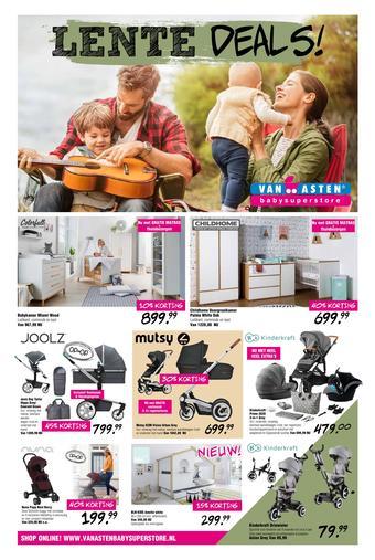 Van Asten BabySuperstore reclame folder (geldig t/m 03-05)