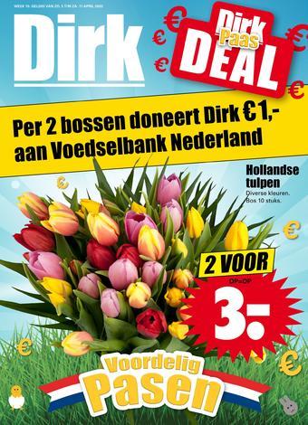Dirk reclame folder (geldig t/m 11-04)