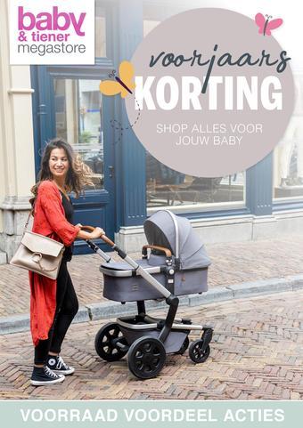 Baby & Tiener reclame folder (geldig t/m 11-04)