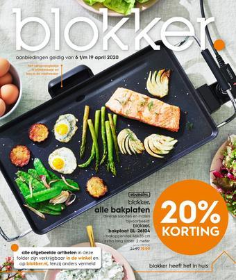 Blokker reclame folder (geldig t/m 19-04)