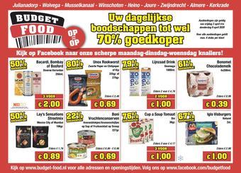 Budget Food reclame folder (geldig t/m 09-04)