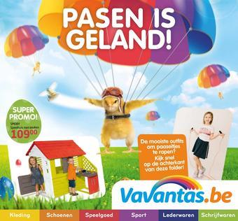 Vavantas reclame folder (geldig t/m 20-04)